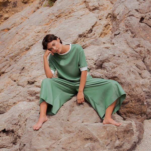 NUOO sustainable clothing brand on platfrm